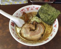 とんこつ醤油ラーメン【コシ屋】(埼玉県)